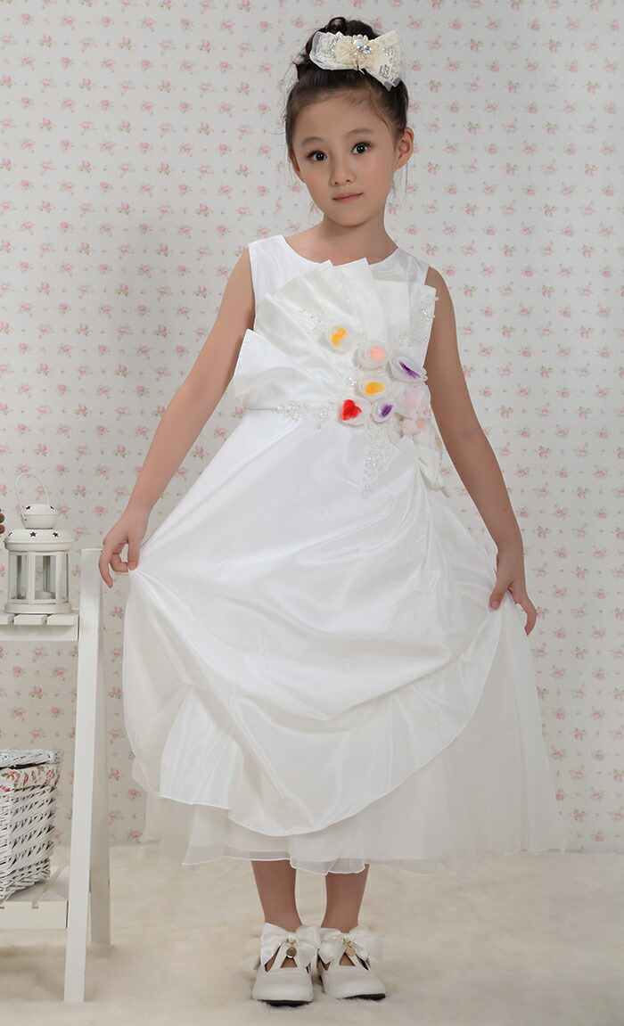 Kids White Dresses
