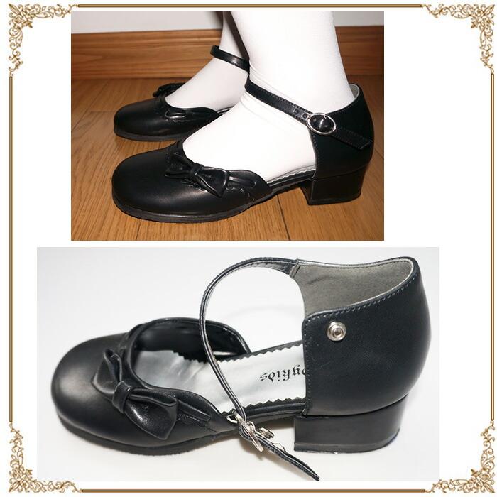 黒 フォーマル 靴・送料無料 フォーマル靴・女の子・子供 靴・キッズ シューズ・キッズシューズ・子供 シューズ・子供シューズ・子供靴・発表会 入学式  結婚式 ビーチ