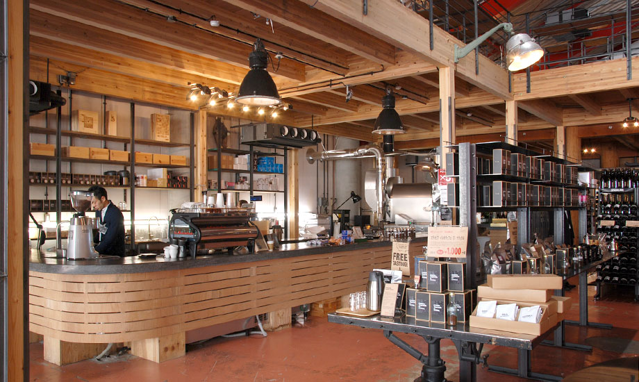 コーヒー売り場