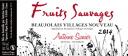 Antoine sunnier and Beaujolais villages Nouveau [2014] ( is reservation sales delivery 11/20/2014 Thursday )