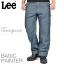 Synonymous with the work of painter pants HERRINGBONE pants Lee Lee LS2001 BASIC PAINTER, painter pants
