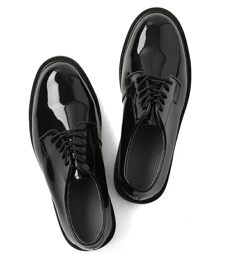 ... 革靴 合皮 レプリカ 復刻品 BLACK