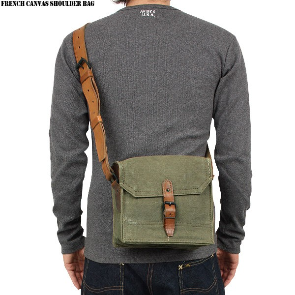 French Military Shoulder Bag 18