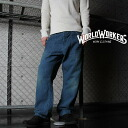 !One piece I wear it with ☆ !WORLD WORKERS World War cars MW511A SEAMLESS painter underwear 113L USED WASH10oz denim, and it is tasteful, and to be able to enjoy a secular variation a feeling of hit excellent at a feeling