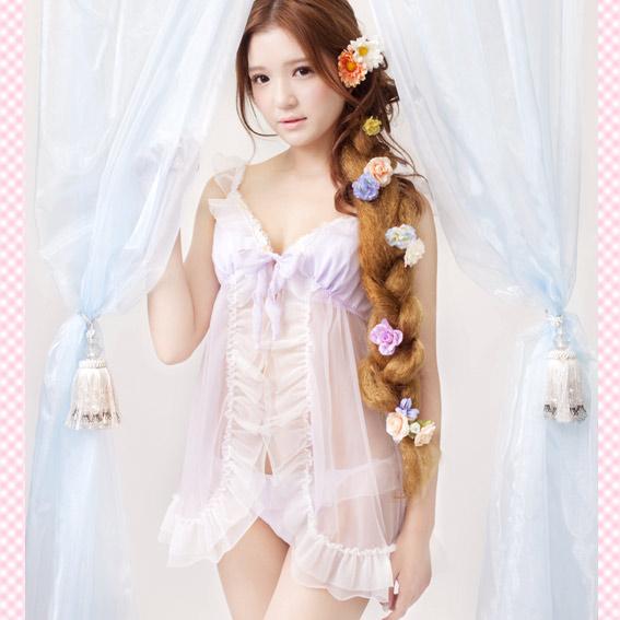 花仙子青睐面纱公主娃娃装 & t 回来