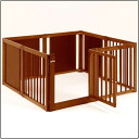 (cage circle) wooden pet circle F 60XL for room, dogs