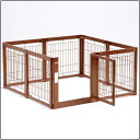 (cage circle) wooden pet circle F 60XL mesh A for room, dogs