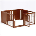 (cage circle) wooden pet circle F 60XL mesh B for room, dogs