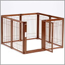Wooden pet circle F 80XL mesh A indoor dog for cage circle