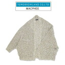 MACPHEE (McAfee) shawl cardigan color: Khaki X white (42) 12-02-31 -02204