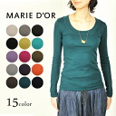 MARIE D ' OR (マリードール) クルーネックカットソー