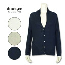 Le pivot doux,ce( ルピボット Doe's) V neck cardigan