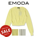 EMODA( エモダ) center line light knit TOP