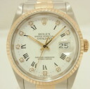 Rolex date just 16233G clock watch watch