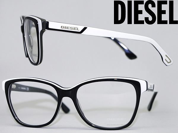 glasses frame diesel black x white x fluorescent pink diesel eyeglasses glasses dl 5013 05 a brandedmens ladies man sex for woman sex for and