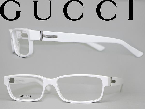 Eyeglasses White Frame : woodnet Rakuten Global Market: GUCCI glasses white Gucci ...
