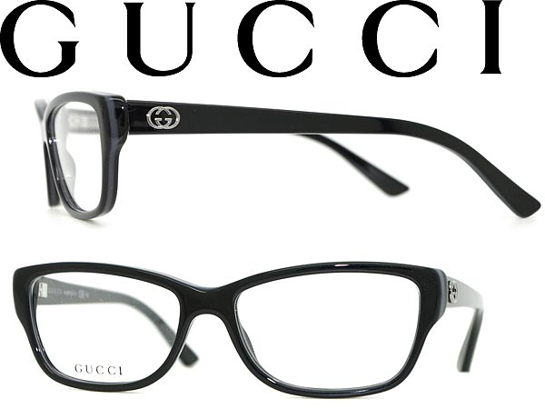 Gucci Eyeglass Frame Parts : woodnet Rakuten Global Market: Glasses GUCCI blackx...