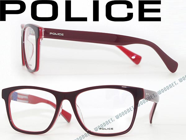 How To Read Eyeglass Frame Numbers : woodnet Rakuten Global Market: Police glasses dark redx...