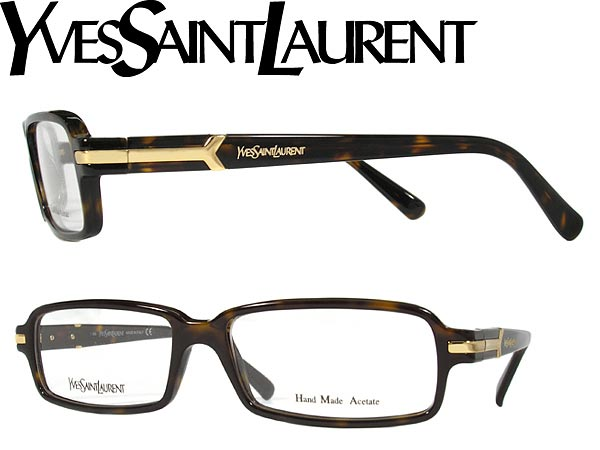 Yves Saint Laurent Frame Eyeglasses : woodnet Rakuten Global Market: The PC glasses lens ...