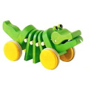 Name put ダンシングアリゲーター plants baby boys girls wooden toys gift baby baby baby toys Perth