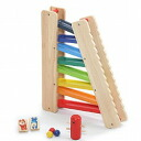 Wooden toys 3-way slider Edythe birth celebration birthday gift one year old gift wooden wood toys slope educational toys Toys Gifts boys girls 3-year-old: 3-year-old man: woman