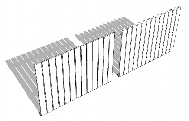 フェンスデザインを比較
