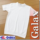 Japan Junior High School Athletic Federation recommended products. GALAX ( Galax )-yoke collar short sleeve gymnastics outfit 120-130