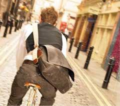 ブルックス/バービカン メッセンジャーバッグ【BROOKS/BARBICAN Messenger Bag】 Lサイズ