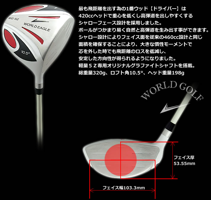World eagle WORLDEAGLE 5Z white driver rule conformity model