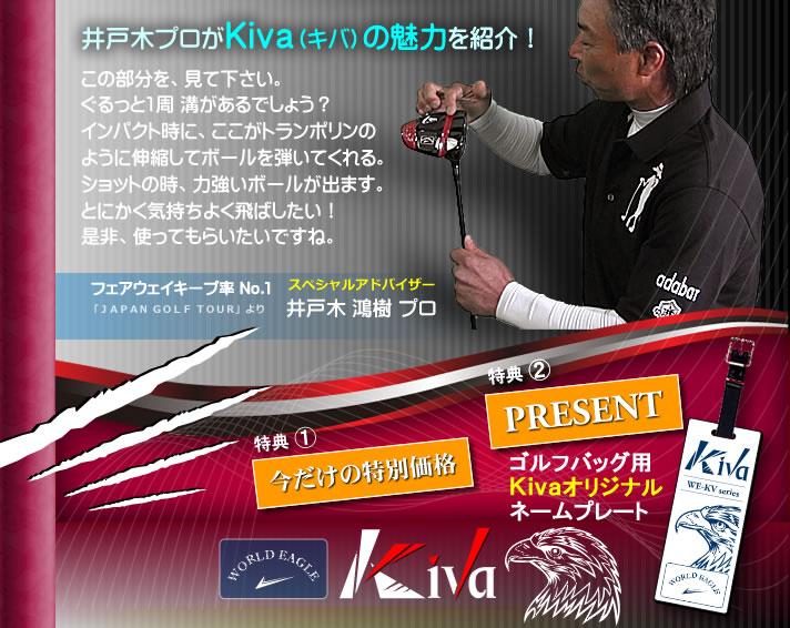 ワールドイーグル キバ ドライバー 10.5°井戸木 鴻樹プロ推薦