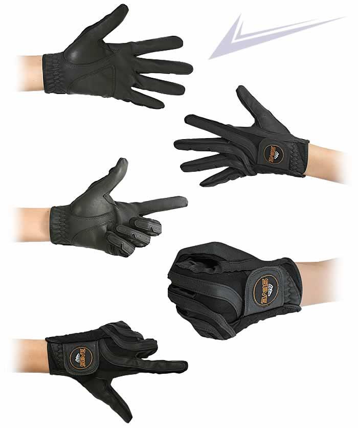 MDGOLF SEVE GOLF GLOVE(MDGOLF セベ・ゴルフグローブ)SEVE All Weather Golf Glove(ブラック)