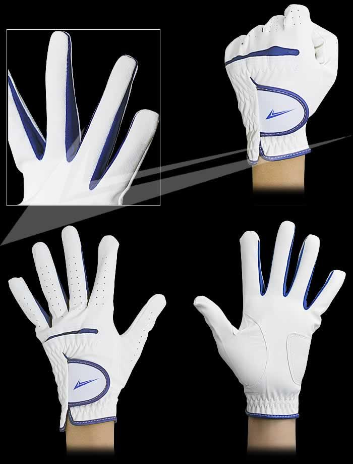 ワールドイーグル WEG−7 メンズ グローブ 4カラー:4Color メンズ ゴルフグローブ☆[左手用]