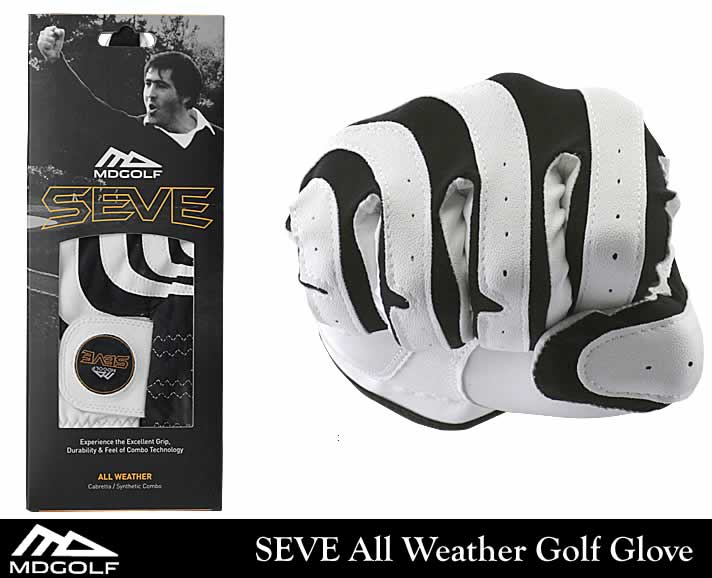MDGOLF SEVE GOLF GLOVE(MDGOLF セベ・ゴルフグローブ)SEVE All Weather Golf Glove(ホワイト)