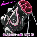 fs3gm with the professional player Idoki recommendation world eagle FL-01 ★ V2 Lady's caddie bag stands