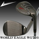 World Eagle WG716 64 ° ハイロブ wedge gunmetal finish fs3gm