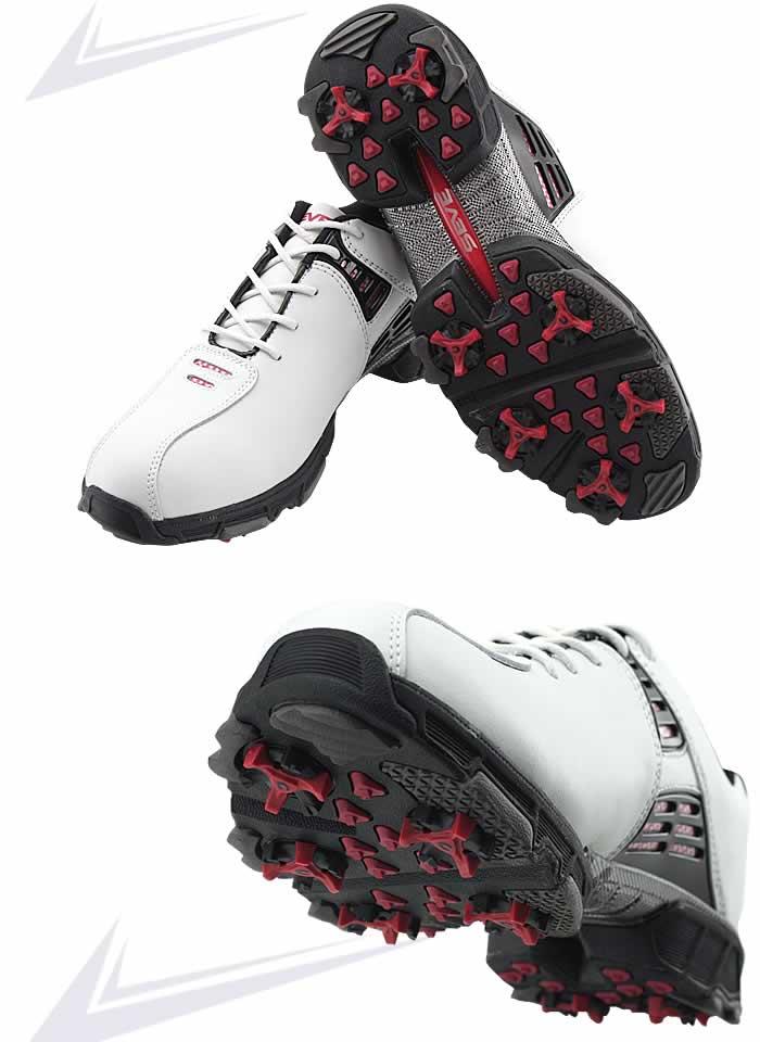 MD GOLF最新発表SEVEゴルフシューズ。英国MD Golf が往年の伝説的名手セベ・バレステロス(Seve Ballesteros)と提携設計, 最新モデル発表