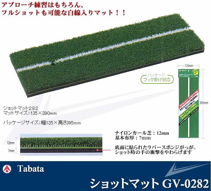TABATA 2ショットマット282