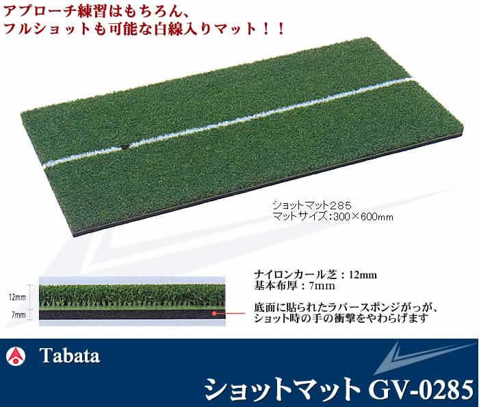 TABATA 2ショットマット285