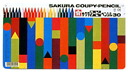 "Sakura color products Corporation ""Cooper pencil 30 colors (Pack of cans) FY30"