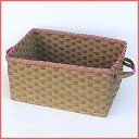 Paper band handicrafts trial kit ♪ color box correspondence big basket♪