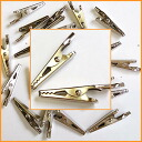 Powerful clip Alligator Clips 20 Pack miniseries even chew on firm