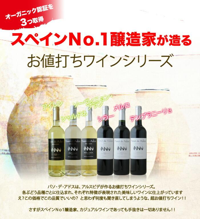 2009年度スペイン最優秀醸造家に選ばれた、フェデリコ・ルセンド・ディアス氏が手掛けるワイン。ECOCERT エコセール(フランス)、AB アグリクルチュール・ビオロジック(フランス)、National Organic Program(アメリカ)と世界的に認められているオーガニック認証を3つ取得しています。