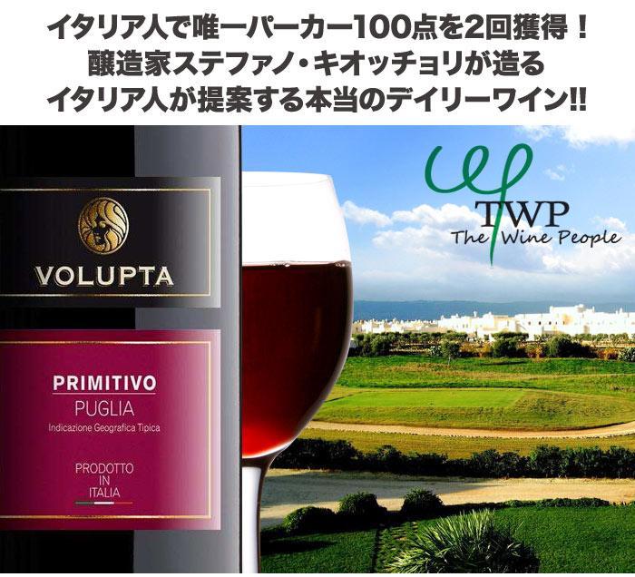 イタリア人で唯一パーカー100点を2回獲得 ! 醸造家ステファノ・キオッチョリが造る イタリア人が提案する本当のデイリーワイン!!!