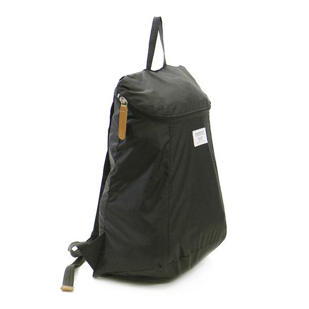 サンドクヴィスト バッグ バックパック SANDQVIST SQA280 BLACK YURI BACKPACK