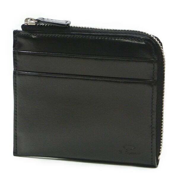 イルブセット 財布 折財布 IL BUSSETTO 7815159 BLACK L字型