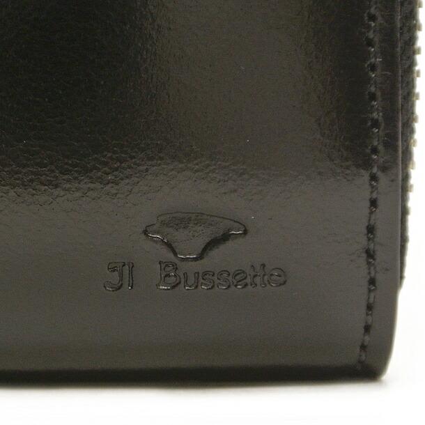 イルブセット 財布 折財布 IL BUSSETTO 7815159 BLACK L字型詳細a画像