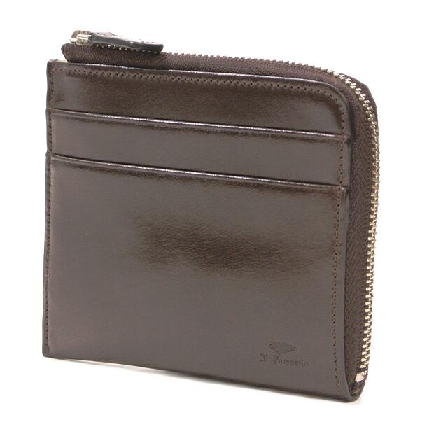 イルブセット 財布 折財布 IL BUSSETTO 7815160 D.BROWN L字型