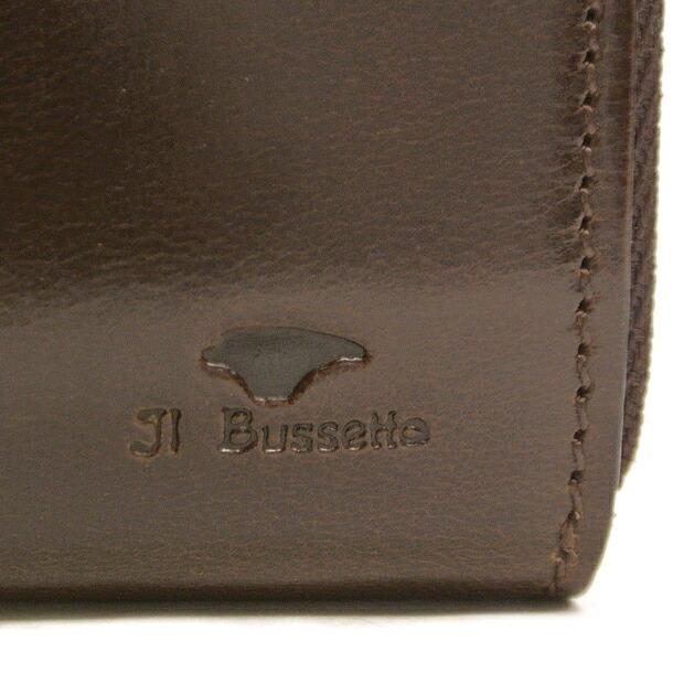 イルブセット 財布 折財布 IL BUSSETTO 7815160 D.BROWN L字型詳細a画像
