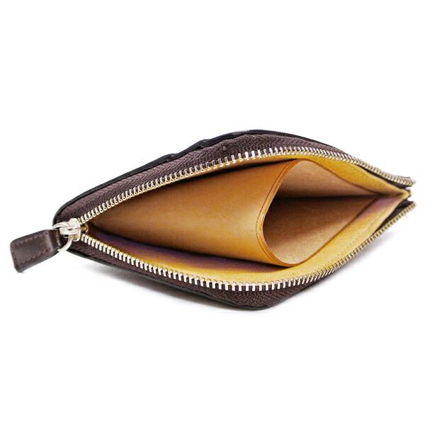 イルブセット 財布 折財布 IL BUSSETTO 7815160 D.BROWN L字型詳細b画像
