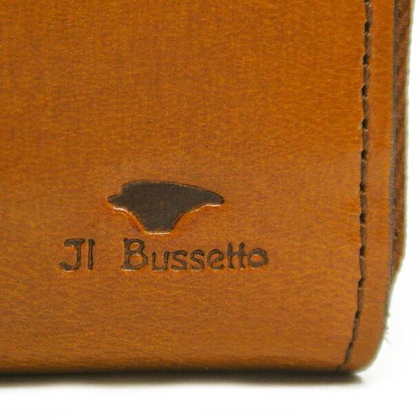 イルブセット 財布 折財布 IL BUSSETTO 7815161 BROWN L字型詳細a画像